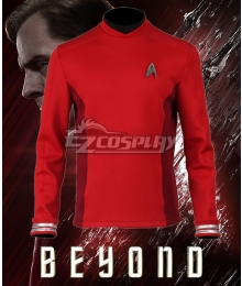 Star Trek Beyond Montgomery Scott Scotty Red Top Cosplay Costume