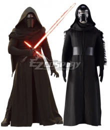 Star Wars VII: The Force Awakens Kylo Ren Black Cosplay Costume
