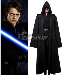 Star Wars Jedi Knight Anakin Skywalker Darth Vader Cosplay Costume