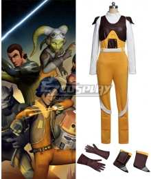 Star Wars Rebels Hera Syndulla Cosplay Costume