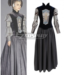 Star Wars Padme Naberrie Amidala Cosplay Costume - B Edition