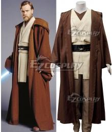 Star Wars Episode III Revenge of the Sith Obi-wan Kenobi Cosplay Costume