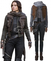 Rogue One: A Star Wars Story Jyn Erso Cosplay Costume - Including Boots