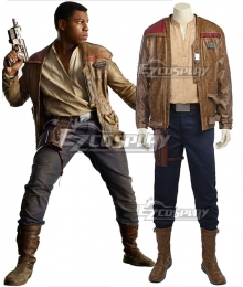 Star Wars The Last Jedi Finn Cosplay Costume - No Boots