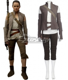 Star Wars The Last Jedi Rey Cosplay Costume
