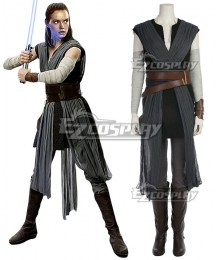 Star Wars The Last Jedi Rey A Edition Cosplay Costume