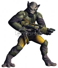 Star Wars Rebels Zeb Orrelios Cosplay Costume
