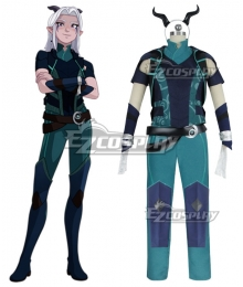 The Dragon Prince Rayla Cosplay Costume