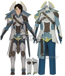 The Dragon Prince General Amaya Cosplay Costume - No Back Prop
