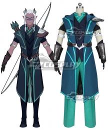 The Dragon Prince Runaan Cosplay Costume