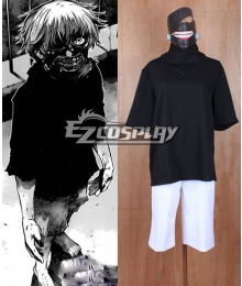 Tokyo Ghoul Ken Kaneki Cosplay Costume - Not included Mask