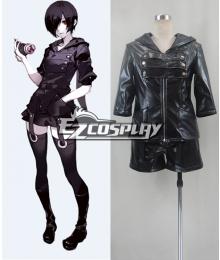 Tokyo Ghoul Tokyo Guru Kirishima Touka Combat Leather Cosplay Costume