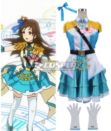 The Idolmaster Cinderella Girls Rin Shibuya Cosplay Costume