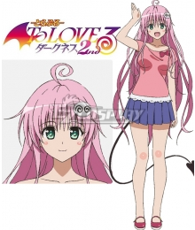To Love Ru Trouble Darkness 2nd Lala Satalin Deviluke Cosplay Costume