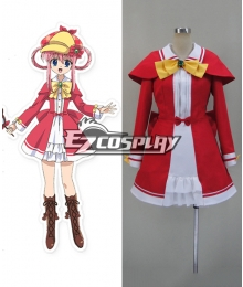 Tantei Opera Milky Holmes TD TOYS DRIVE Sherlock Shellinford Cosplay Costume