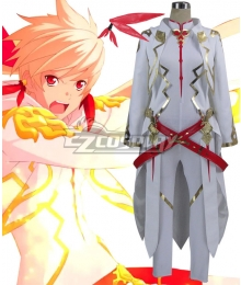 Tales of Zestiria Sorey Kamui Divine Reliance Red Cosplay Costume - A Edition