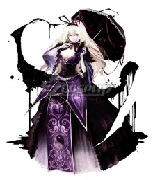 Touhou Project Scarlet Devil Yakumo Yukari Cosplay Costume