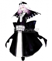 Touhou Project Koumajou Densetsu: Scarlet Symphony Saigyouji Yuyuko Cosplay Costume