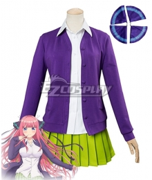 The Quintessential Quintuplets Go-Tōbun no Hanayome 5 Equal Brides Nino Nakano Cosplay Costume