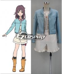 The Rolling Girls Moritomo Nozomi Cosplay Costume