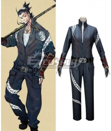 Touken Ranbu Online Nihon Gou Shitsujinn Fuku Uniform Cosplay Costume