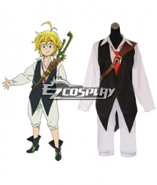 The Seven Deadly Sins / Nanatsu no Taizai Meliodas Dragon's Sin of Wrath Cosplay Costume - No boots cover