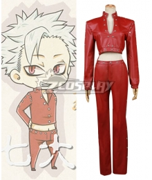 The Seven Deadly Sins / Nanatsu no Taizai Ban Fox's Sin of Greed Cosplay Costume