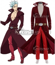 The Seven Deadly Sins: Revival of The Commandments Nanatsu no Taizai Season 2 Fox's Sin of Greed Ban Cosplay Costume