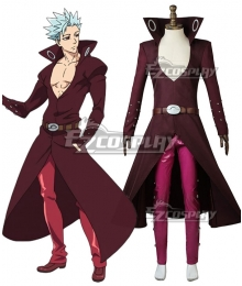 The Seven Deadly Sins: Revival Of The Commandments Nanatsu No Taizai Season 2 Ban Cosplay Costume