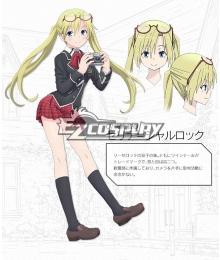 Trinity Seven: 7-nin no Masho Tsukai Serina Sharlock Cosplay Costume
