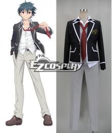 Trinity Seven: 7-nin no Masho Tsukai Arata Kasuga Cosplay Costume -New Ver.