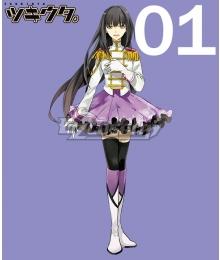Tsukiuta. Yuki Hanazono Fluna January Cosplay Costume