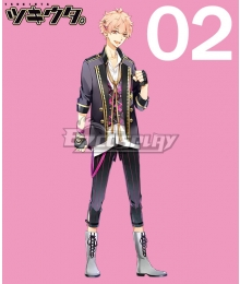 Tsukiuta. Koi Kisaragi Six Gravity February Cosplay Costume
