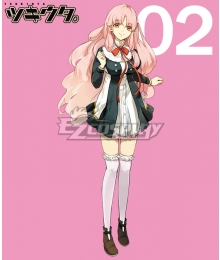 Tsukiuta. Ai kisaragi Fluna February Uniform Cosplay Costume