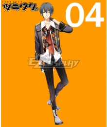 Tsukiuta. Arata Uduki Six Gravity April Cosplay Costume