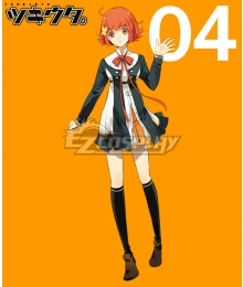 Tsukiuta. Chisa Togawa Fluna April Uniform Cosplay Costume
