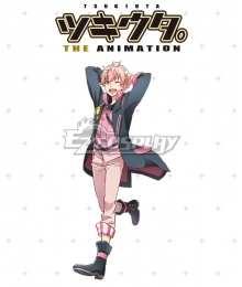 Tsukiuta. The Animation Koi Kisaragi Cosplay Costume
