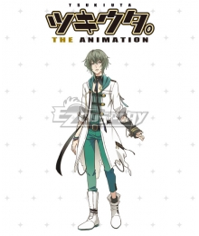 Tsukiuta. The Animation Rui Minaduki Cosplay Costume