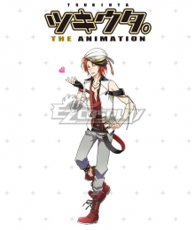 Tsukiuta. The Animation You Haduki Cosplay Costume