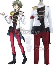 Tsukiuta. The Animation Theme Song CD Rui Minaduki Cosplay Costume