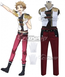 Tsukiuta. The Animation Theme Song CD Iku Kannaduki Cosplay Costume