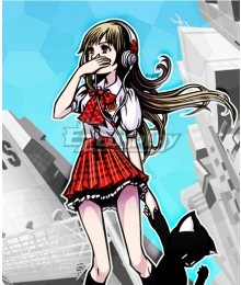 The World Ends with You Hype-chan Cosplay Costume
