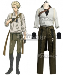 Violet Evergarden Benedict Blue Cosplay Costume