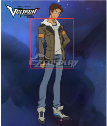 Voltron: Legendary Defender Lance McClain Cosplay Costume - Only the Top and Coat