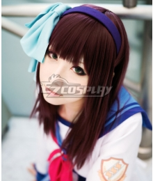 Angel Beats! Nakamura Yuri Wine Cosplay Wig