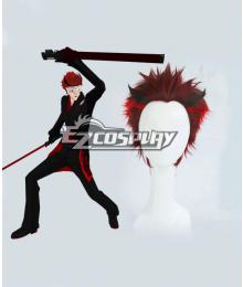 RWBY The White Fang Adam Taurus Red Hair Cosplay Wig