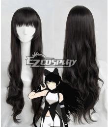 RWBY Team RWBY Blake Belladonna Long Black Hair Cosplay Wig