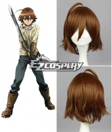 Akame Ga Kill! Night Raid Tatsumi Brown Cosplay Wig