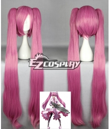 Akame Ga Kill! Night Raid Main Mine Pink Cosplay Wig