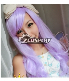 Lavender Wavey Cosplay wig